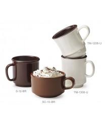 GET Enterprises TM-1208-U Ultraware SAN Mug, 8 oz. (2 Dozen)