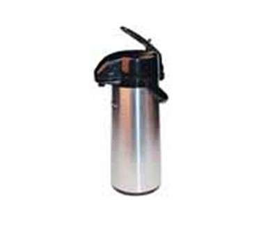 Winco AP-835 Lever Top Stainless Vacuum Server with Glass Liner 3.0 Liter