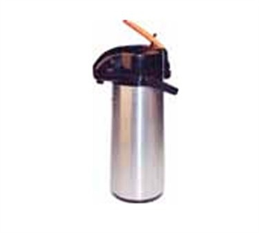 Winco AP-835DC Lever Top Decaf Stainless Vacuum Server with Glass Liner 3.0 Liter