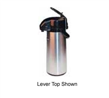 Winco AP-535 Push Button Vacuum Server with Glass Liner 3.0 Liter
