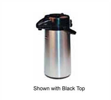 Winco APSP-930DC Push Button Decaf Vacuum Server with Stainless Steel Liner 3.0 Liter