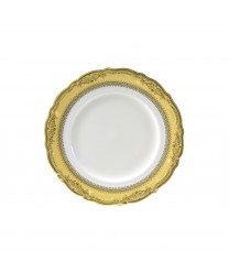10 Strawberry Street VAN-4G Vanessa Gold Salad / Dessert Plate 7-3/4