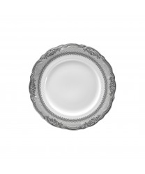 10 Strawberry Street VAN-4P Vanessa Platinum Salad / Dessert Plate 7-3/4'' - Case of 48