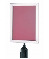 """Aarco VSF1411S Form-A-Line Sign Frame in Satin 14-1/8"""" x 11-1/8"""""""