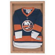 """Aarco WBC2424S Souvenir and Memorabilia Display Case with Wanut Stain Finish  24"""" x 24"""""""