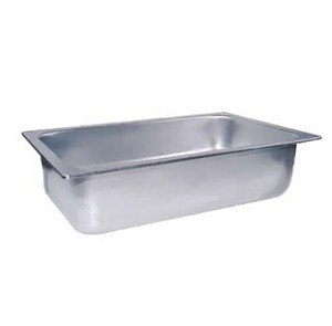 Winco C-WPF6 Full Size Stainless Steel Water Pan, 6