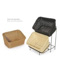 """GET Enterprises WB-1510-BK Designer Polyweave Black Rectangular Basket, 9-1/4""""x 13""""(1 Dozen)"""