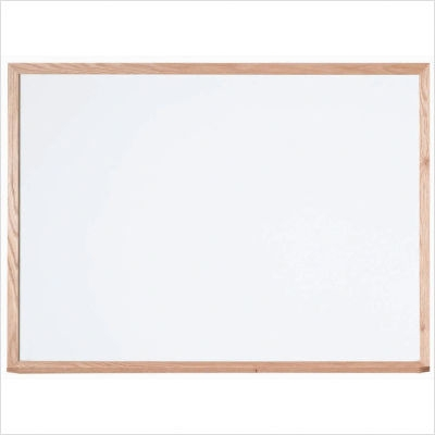 Aarco WOC1824NT Display Style White Markerboard 18