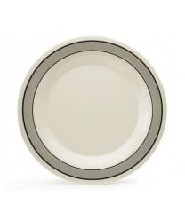 "GET Enterprises WP-10-CA Diamond Cambridge Wide Rim Plate, 10-1/2""(1 Dozen)"