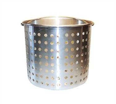 Winco ALSB-40 Aluminum Steamer Basket 40 Qt. fits ALST-40 and ALHP-40