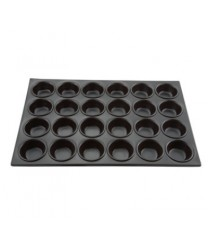 Winco AMF-24NS 24-Cup Non-Stick Muffin Pan