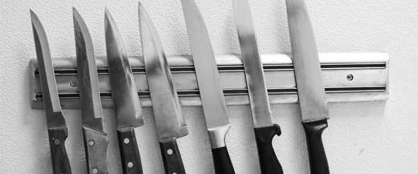 Chef knives are classic, must-have, all-purpose options for a commercial kitchen.