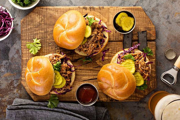 Pulled beef slider recipe