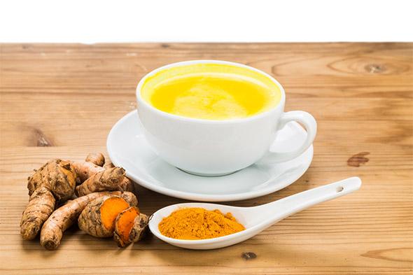 Turmeric milk and its health benefits