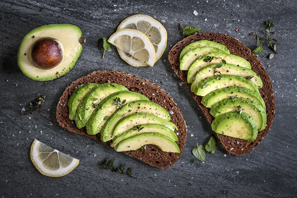 Cooking and baking with avocados