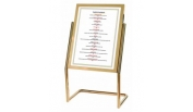 Menu Covers, Menu Stands and Tip Trays