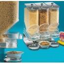 ''Elite'' Portion Control 3-Bin Cereal Unit - 600 Cu. width=
