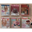 Aarco LRC106 Clear-VU Combination Pamphlet / Magazine Display-6 Pamphlets, 3 Magazines  width=