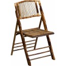 Flash Furniture American Champion Bamboo Folding Chair [X-62111-BAM-GG] width=