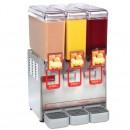 Cecilware 8/3 Arctic Compact Agitation Triple Bowl Cold Beverage Dispenser 2.2 Gallon width=
