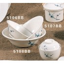 Thunder Group 5106BB Blue Bamboo Noodle Bowl 12 oz. (1 Dozen) width=