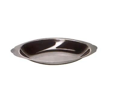 Winco ADO-20 Stainless Steel Oval Au Gratin Dish 20 oz