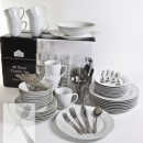 10 Strawberry Street SM-80RD 80-Piece Complete Round Dinnerware Set width=