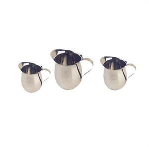 Winco BCS-10 Stainless Steel Bell Creamer 10 oz.