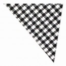 Black & White Checkered Neckerchief - Blended width=