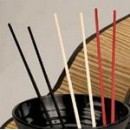 Black Chopsticks - 10 3/4'' (1 Pair/Unit) width=