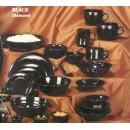 Bowl, 1 Qt., 9-1/4'', Melamine, Black(1 Each/Unit) width=