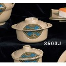Thunder Group 3503J Wei Miso Bowl with Lid 12 oz. (6 Pieces) width=