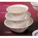 Thunder Group 5106AR Rose Deep Bowl  15 oz. (1 Dozen) width=