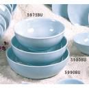 Thunder Group 5975 Blue Jade Bowl 40 oz. (1 Dozen) width=
