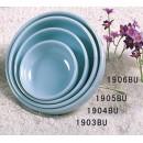 Thunder Group 1905 Blue Jade Flat Bowl 9 oz. (1 Dozen) width=