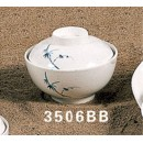 Thunder Group 3506BB Blue Bamboo Special Bowl with Lid 10 oz. (6 Pieces) width=