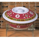Thunder Group 8010TR Longevity Serving Bowl with Lid 75 oz. width=