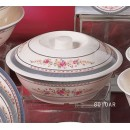 Thunder Group 8010AR Rose Bowl with Lid  75 oz. width=