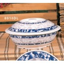 Thunder Group 8010DL Blue Dragon Bowl with Lid 75 oz. width=