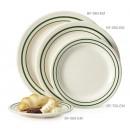 """GET Enterprises BF-010-EM Emerald Round Plate, 10""""(1 Dozen) width="""