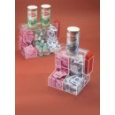 Coffee-Condiment-Center---Two-Section---9--W-X-9--H-X-8--D---Clear