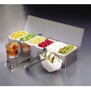 Condiment Holder Insert, 1 Pint, Plastic, (Fits Model Numbers 1604, 1605 & 1606) width=