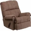 Flash Furniture Contemporary Tahoe Bark Chenille Rocker Recliner [WM-8700-210-GG] width=