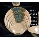 "Thunder Group 1306J Wei Dinner Plate 6-3/8"" (1 Dozen) width="