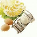 Egg Slicer, Stainless Steel-L 5'' X W 3 1/8'' X H 1 3/4''(1 Each/Unit) width=