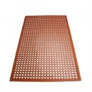 Winco RBM-35R Red Grease Resistant Floor Mat 3' X 5' width=