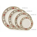 "GET Enterprises M-412-CG Garden Dynasty Melamine Plate, 6""(1 Dozen) width="