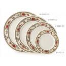 "GET Enterprises M-5080-CG Garden Dynasty Melamine Plate, 9-1/2""(1 Dozen) width="