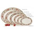 "GET Enterprises M-4030-CG Garden Dynasty Melamine Oval Platter, 12-1/4""x 8-3/4"" (1 Dozen) width="