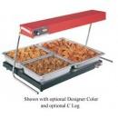 Glo-Ray-Infrared-Foodwarmer--High-Wattage--Tubular-Metal-Heater-Rod--Single-Heater-Rod-Housing-